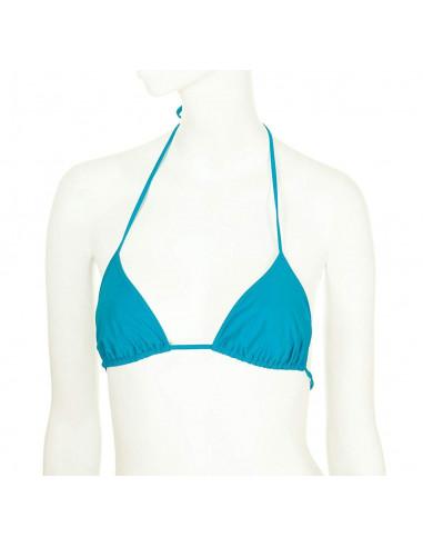 Reggiseno bikini a triangolo chloe azzurro cielo