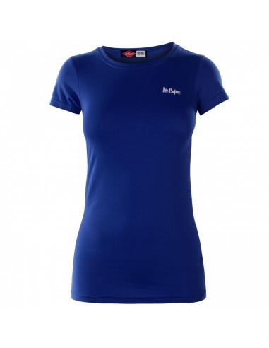 Lee Cooper Casual T Shirt Donna Blu