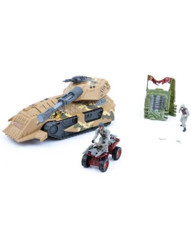 Mamatoy Sauropodus Massive Tank - Playset per Bambini per Guerra Militare