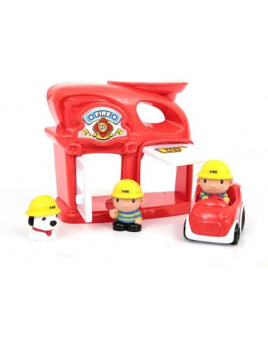 Mamatoy MMA73000-Funnycity The Fire Station Stazione Vigili del Fuoco
