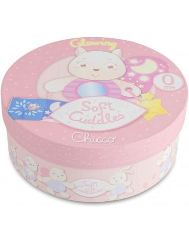 Chicco - Soft Cuddles Pannello, Scoiattolo, Rosa, 7705