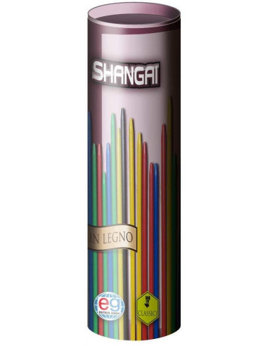 SHANGAI IN LEGNO EDITRICE GIOCHI Multicolore
