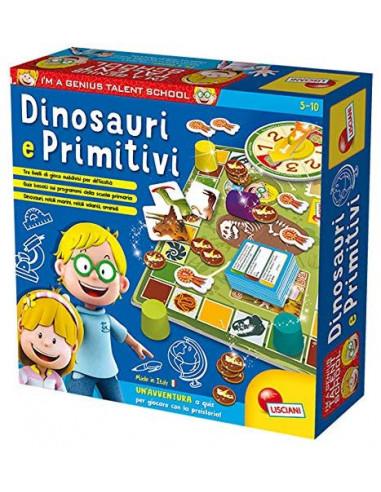 Lisciani Giochi Piccolo Genio Talent School Dinosauri e Uomini Primitivi