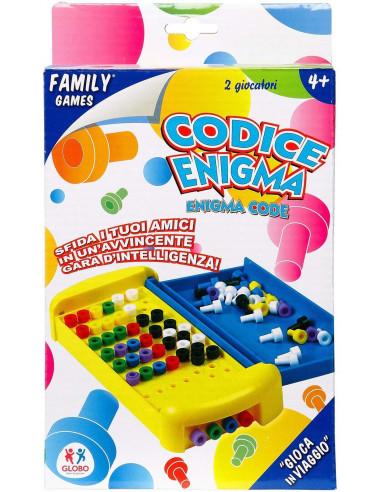Globo Giocattoli Codice 30575 Enigma Tasca Family Game (Medium)