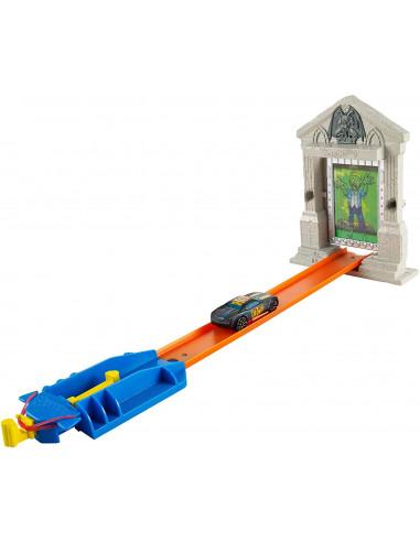 Mattel DJF03 - Pista Modulare Hot Wheels Attacco Zombie