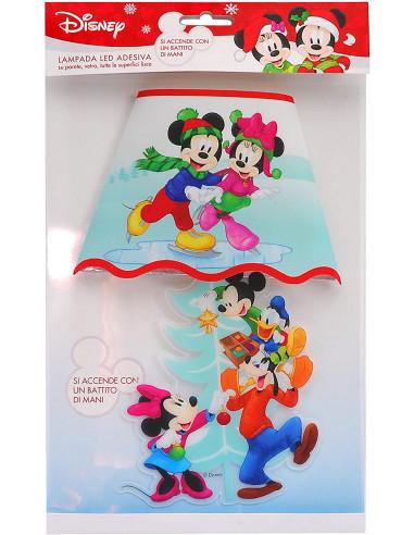 Ciao- Lampada Sticker da Muro Disney Mickey con Luci LED, Multicolore, 90907