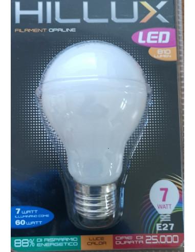 LAMPADA LED FILAMENTO GOCCIA A60 7W A++ E27