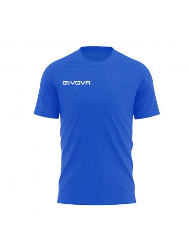T-shirt Fresh Manica Corta Uomo Givova Givova MA007 Azzurro