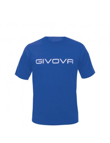 T-shirt Spot Manica Corta Uomo Givova MA008 Azzurro