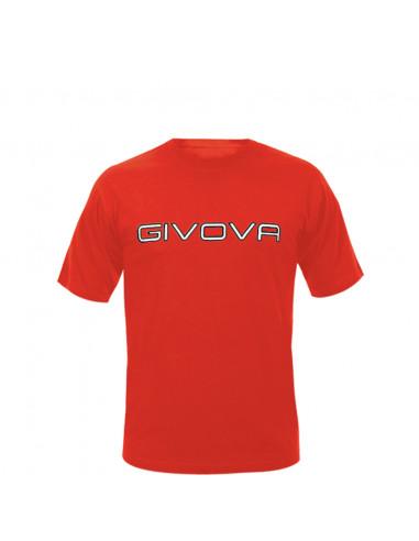 T-shirt Spot Manica Corta Uomo Givova MA008 Rosso