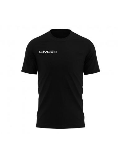T-shirt Fresh Manica Corta Uomo Givova MA007 Nero