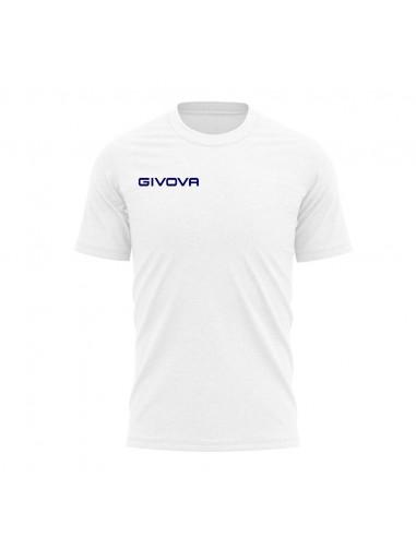 T-shirt Fresh Manica Corta Uomo Givova MA007 Bianco