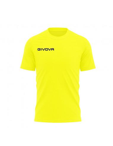 T-shirt Fresh Manica Corta Uomo Givova MA007 Giallo