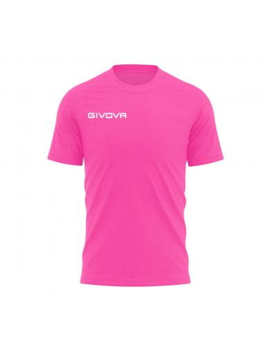 T-shirt Fresh Manica Corta Uomo Givova MA007 Fuxia Fluo