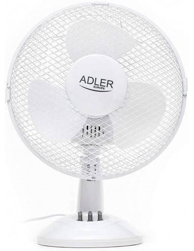 Adler AD 7302 35W Bianco VENTILATORE DA TAVOLO