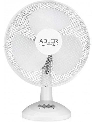 Adler AD 7303 70W Bianco VENTILATORE DA TAVOLO
