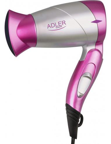 Adler  asciuga capelli AD 223-pi Rosa 1300 W