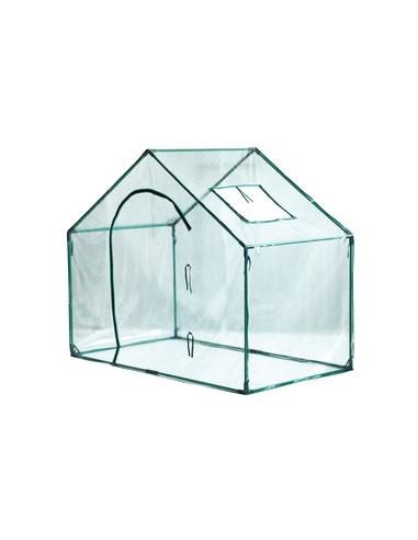 Serra da giardino a casetta con copertura in PVC 180x104x151 cm