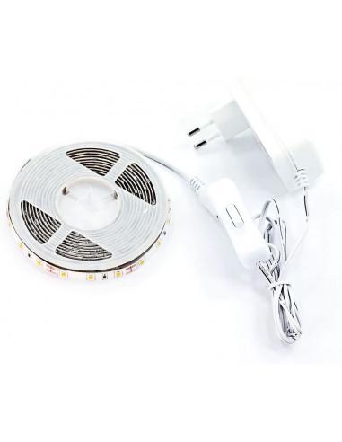 Prismalux LSK3MT65-F Striscia LED Completa 14.4 W, Bianco, 8 x 3m