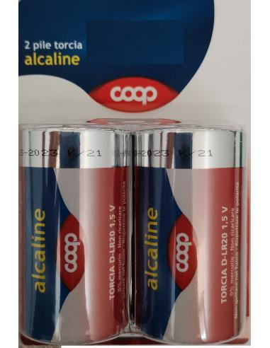 4 pile torcia Alcaline Coop