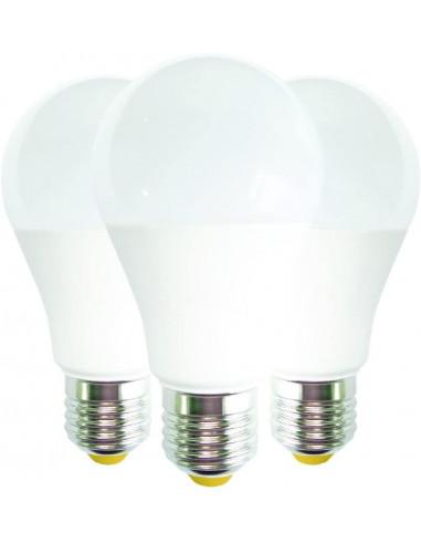 Elite LPE-K3-GOCC-E27-75-C Lampadine LED E.Lite Goccia E27, 11.5 W, Bianco, 60 x 118 mm, 3 unità