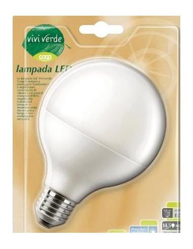 LAMPADA LED COOP GLOBO E27 A+ LUCE CALDA 17W