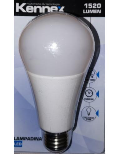 Lampadina LED 14W E27 ATTACCO GRANDE 2700k LUMEN LUCE CALDA