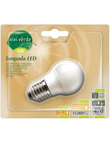 LAMPADINA LED COOP MINIGLOBO E27 350LM A+