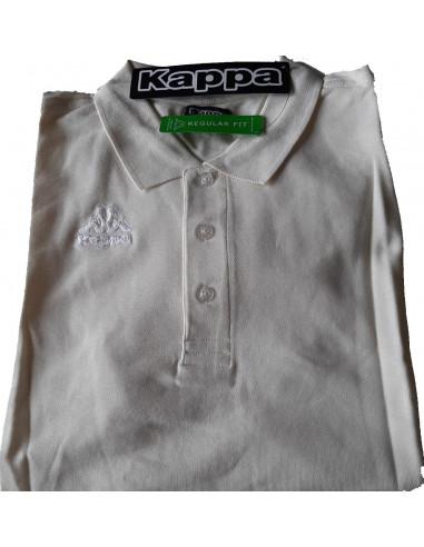 KAPPA POLO UOMO T-SHIRT 302V0Q0 XBY VANILLA WHITE