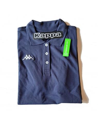 KAPPA POLO DONNA T-SHIRT 302LQY0 LADY 193 BLU MARINE