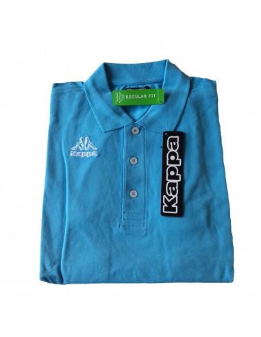 KAPPA POLO UOMO T-SHIRT 302V0Q0 HOMINI 021 LIGHT BLUE