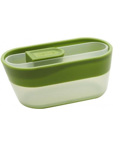 Lékué 0205250 V10u150 – Tazza e Cucchiaio dosatori 12 x 2.9 x 2.3 cm Verde