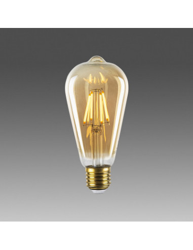 LAMPADINA LED OP-001 GIALLO CALDO 6,4X14,2 CM
