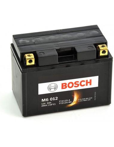 BATTERIA MOTO M6012 (9AH SX) - 200A BOSCH