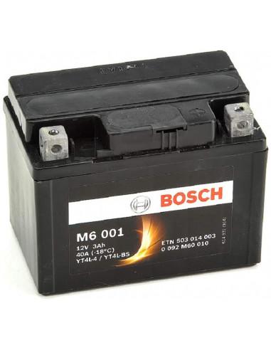 BATTERIA MOTO M6001 (3AH DX) - 40A BOSCH