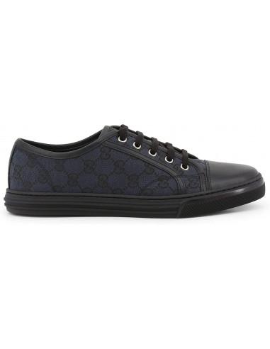 Gucci Scarpe Basse Sneakers Donna Blu-Nero Tg 39 426187_KQWM0-1948