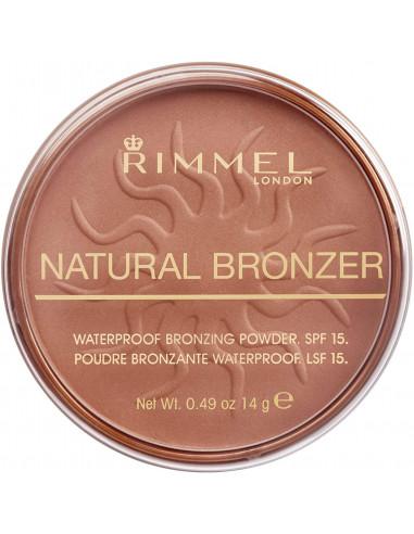 RIMMELTERRA NATURAL BRONZER 026 SUN KISSED SPF 151