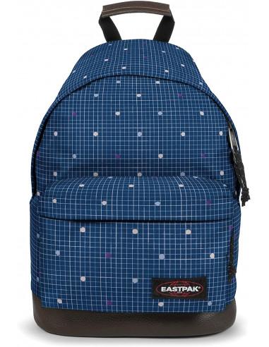 EASTPAK WYOMING Zaino Casual, 40 cm, 24l, Blu Little Grid