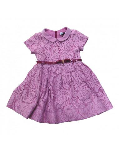 Monnalisa Abito bimba lace dress pink Taglia 3 anni