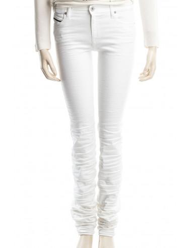 Diesel Black Gold Jeans Donna Super Skinny 2614S Bianco